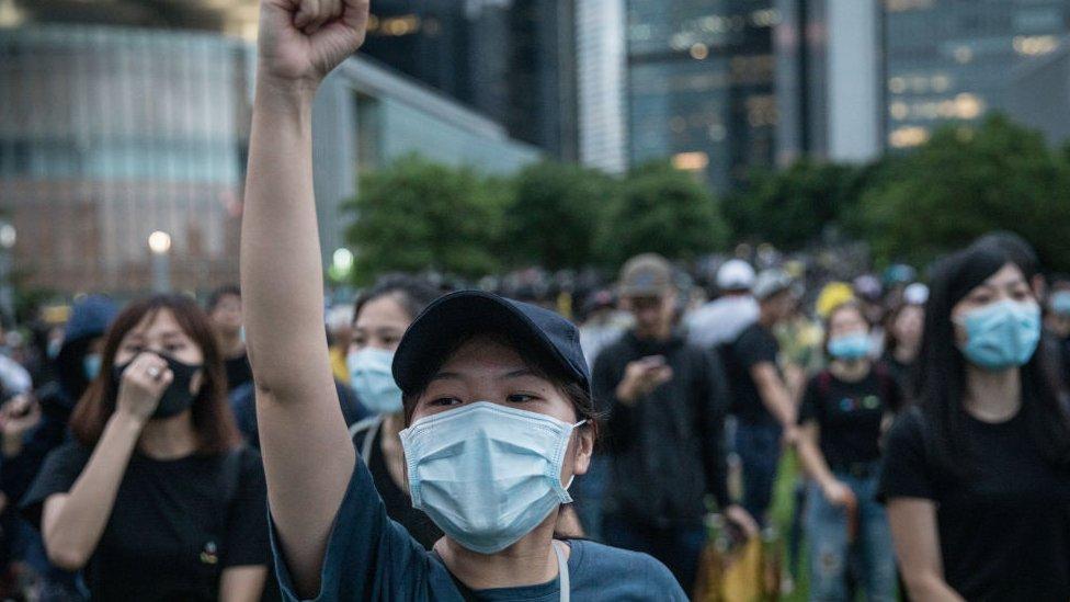 Protestas HK