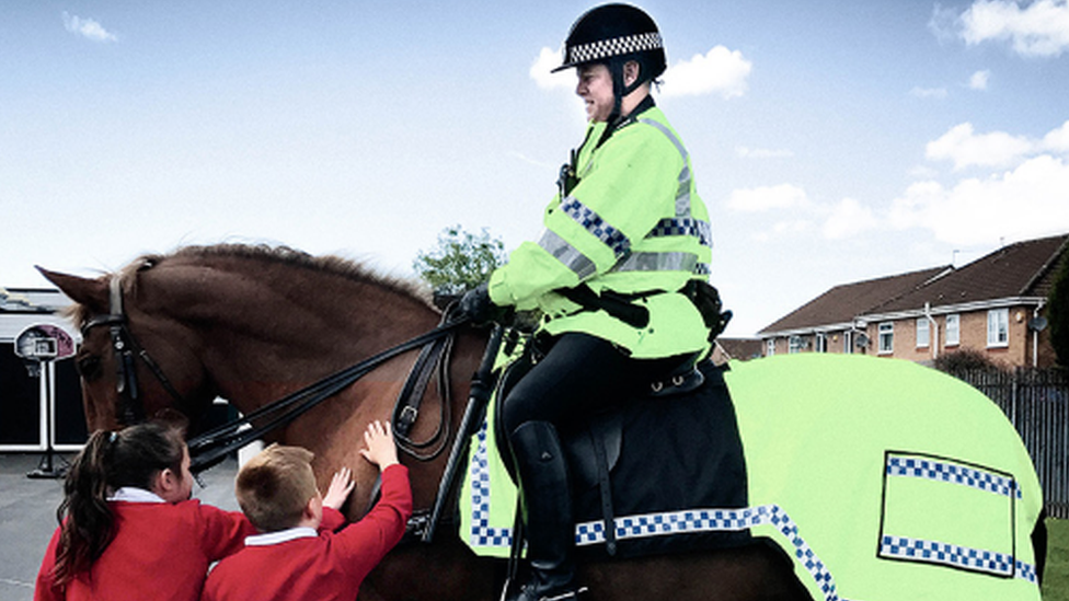 Merseyside Police horse sponsorship 'thin end of the wedge'