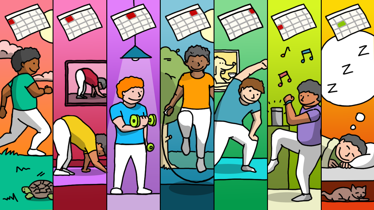 Illustration of scheduling exercise