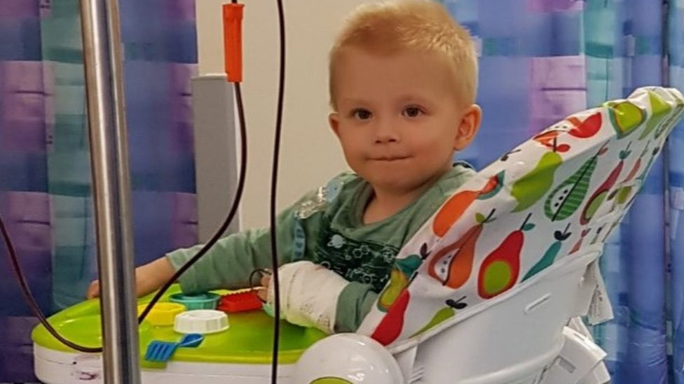 Giving blood: 'We are reliant on blood donors to keep Henry alive'