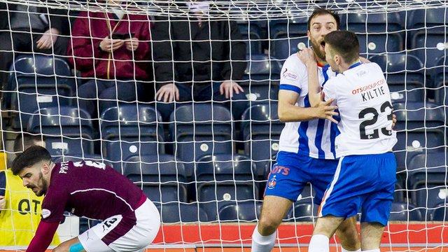 Highlights - Kilmarnock 2-2 Hearts
