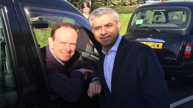 Norman Smith and Sadiq Khan