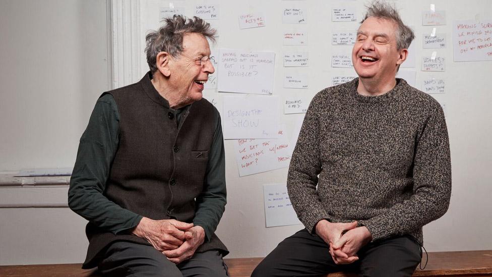 Philip Glass and Phelim McDermott
