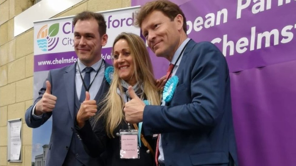 European elections 2019: Brexit Party wins three East seats
