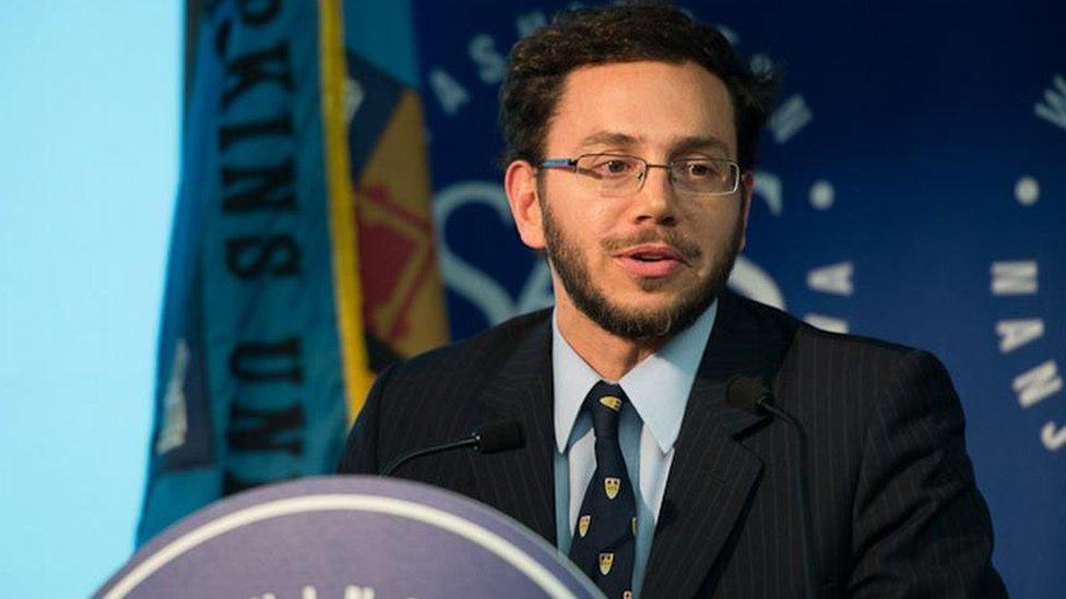 Francisco González, profesor de Política Latinoamericana de la Universidad Johns Hopkins de EE.UU.