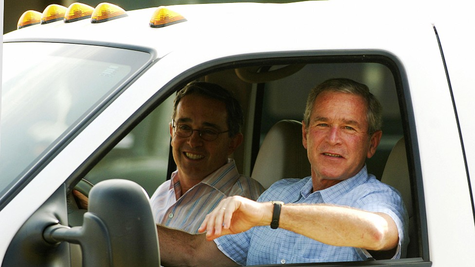 Uribe y Bush