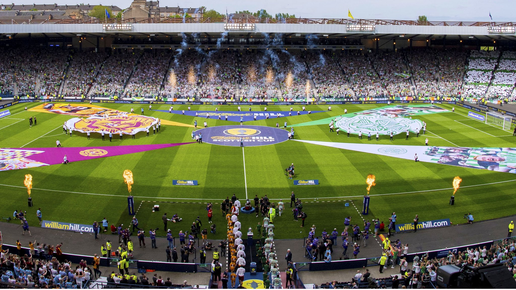 Scottish Cup: Equal final ticket share for Celtic & Hearts
