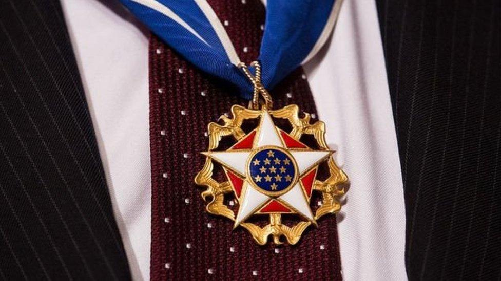 ميدالية الحرية الرئاسية، أرفع وسام مدني بالولايات المتحدة