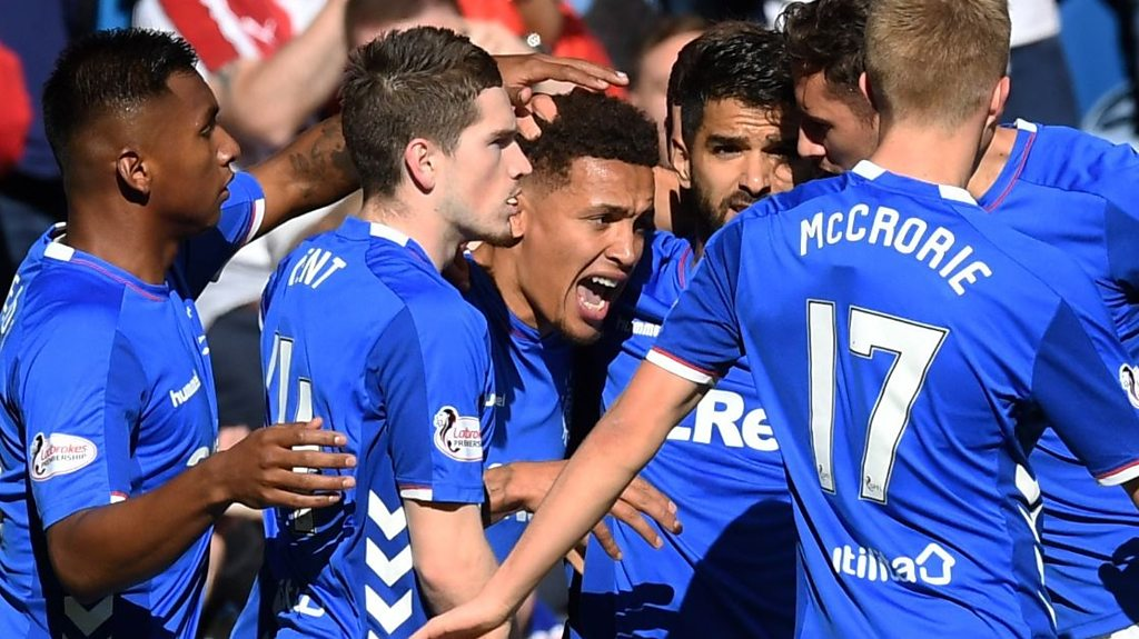 Highlights: Rangers 5-1 St Johnstone