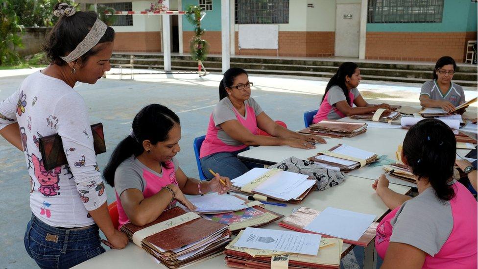 Muchas escuelas dedicaron el primer día del año escolar a actividades de planificación.