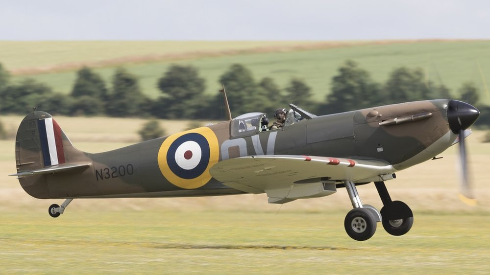 Spitfires to perform at Duxford Battle of Britain Air Show
