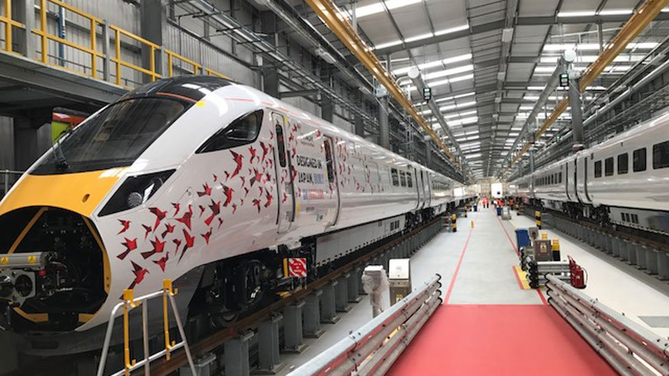 New hybrid electric and diesel trains will be in service this autumn