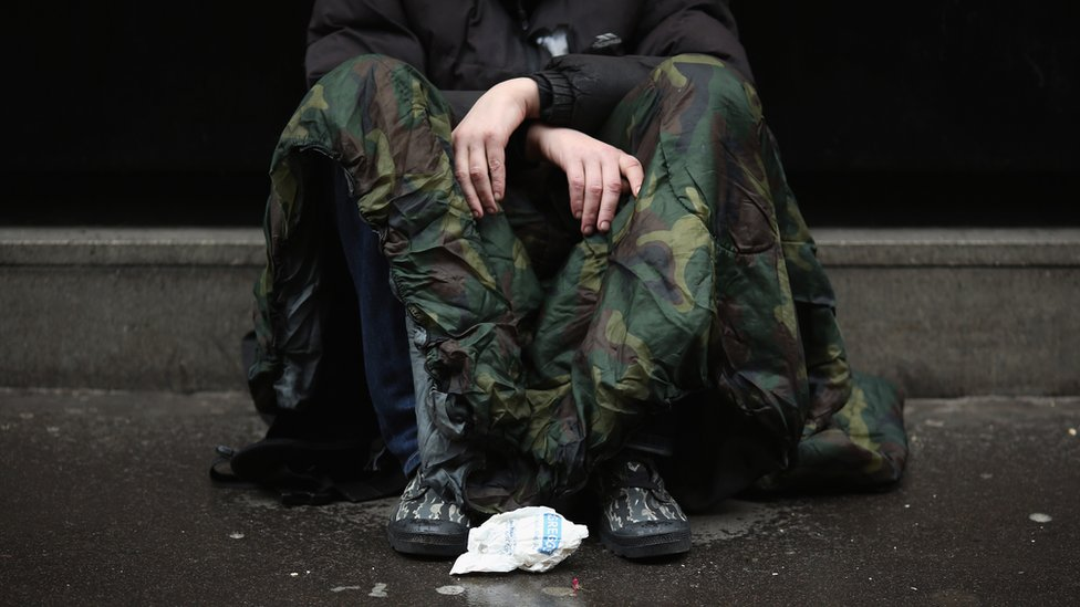 Plan to end rough sleeping in England by 2027