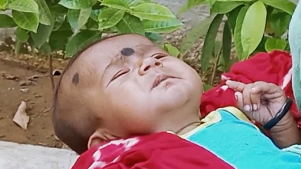 The two-month old baby who was kidnapped twice in two months.
