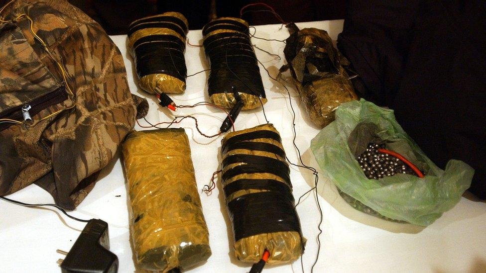 El C4 se ha usado en varios ataques terroristas. Estos 10 kilos fueron incautados en 2002 por las autoridades de Afganistán.