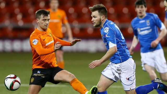 Kyle Cherry and Ryan Harpur in action at Seaview