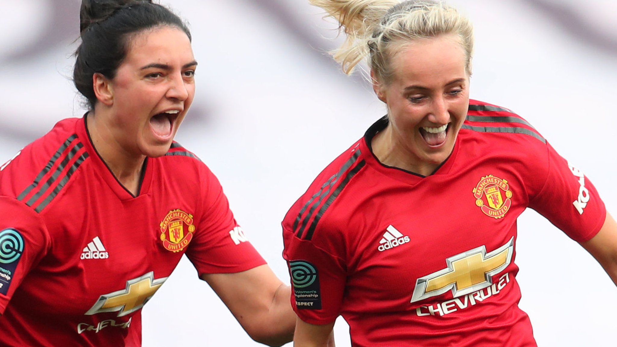 Manchester United Women promoted after 5-0 victory over Aston Villa Ladies