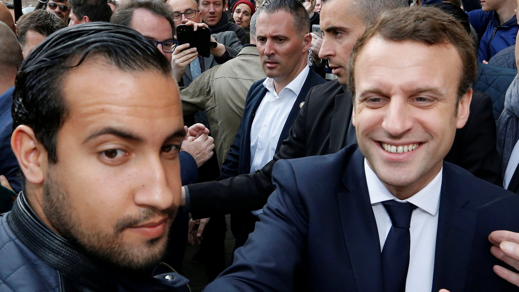 Macron aide Alexandre Benalla charged after protesters beaten