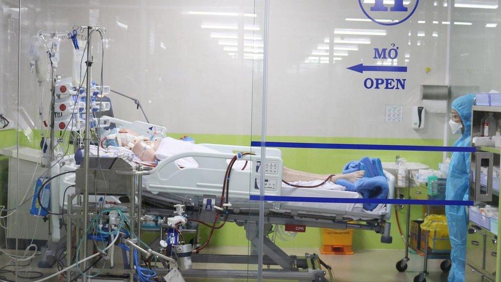 Patient BN91 in hospital