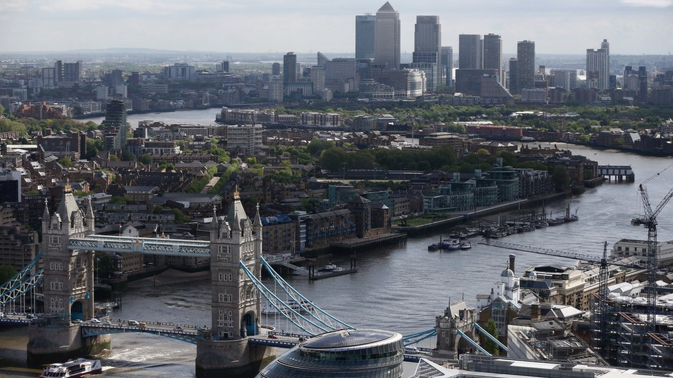 A view of London