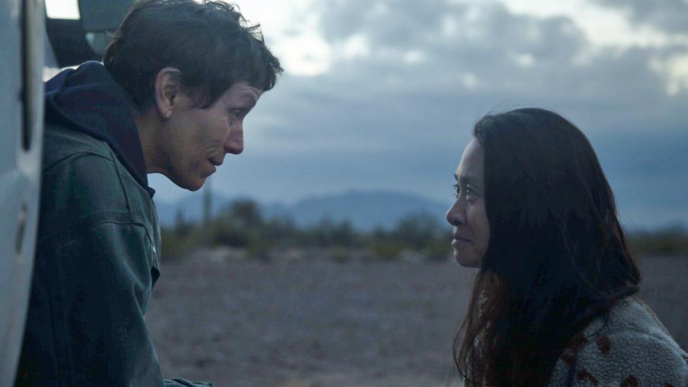 Frances McDormand y Clohé Zhao