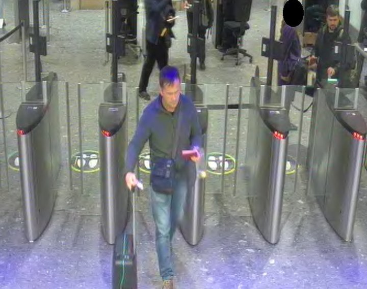 CCTV of Alexander Petrov and Ruslan Boshirov at Heathrow Airport