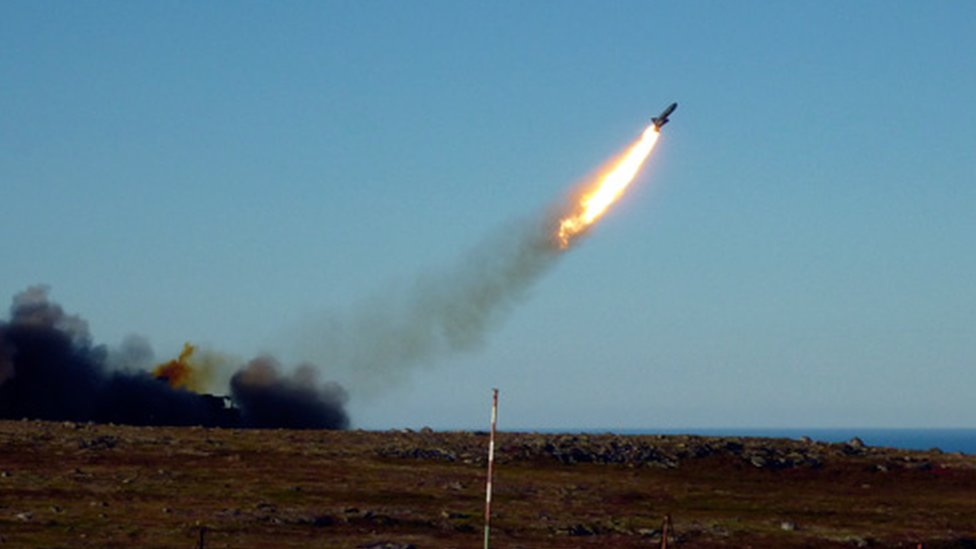 Russian cruise missile test - file pic