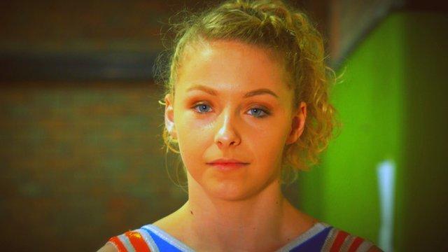 Welsh gymnast Maisie Methuen