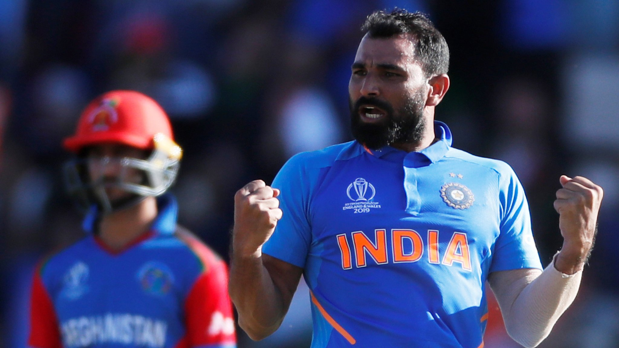 Shami's hat-trick helps India beat Afghanistan; Kohli top scores