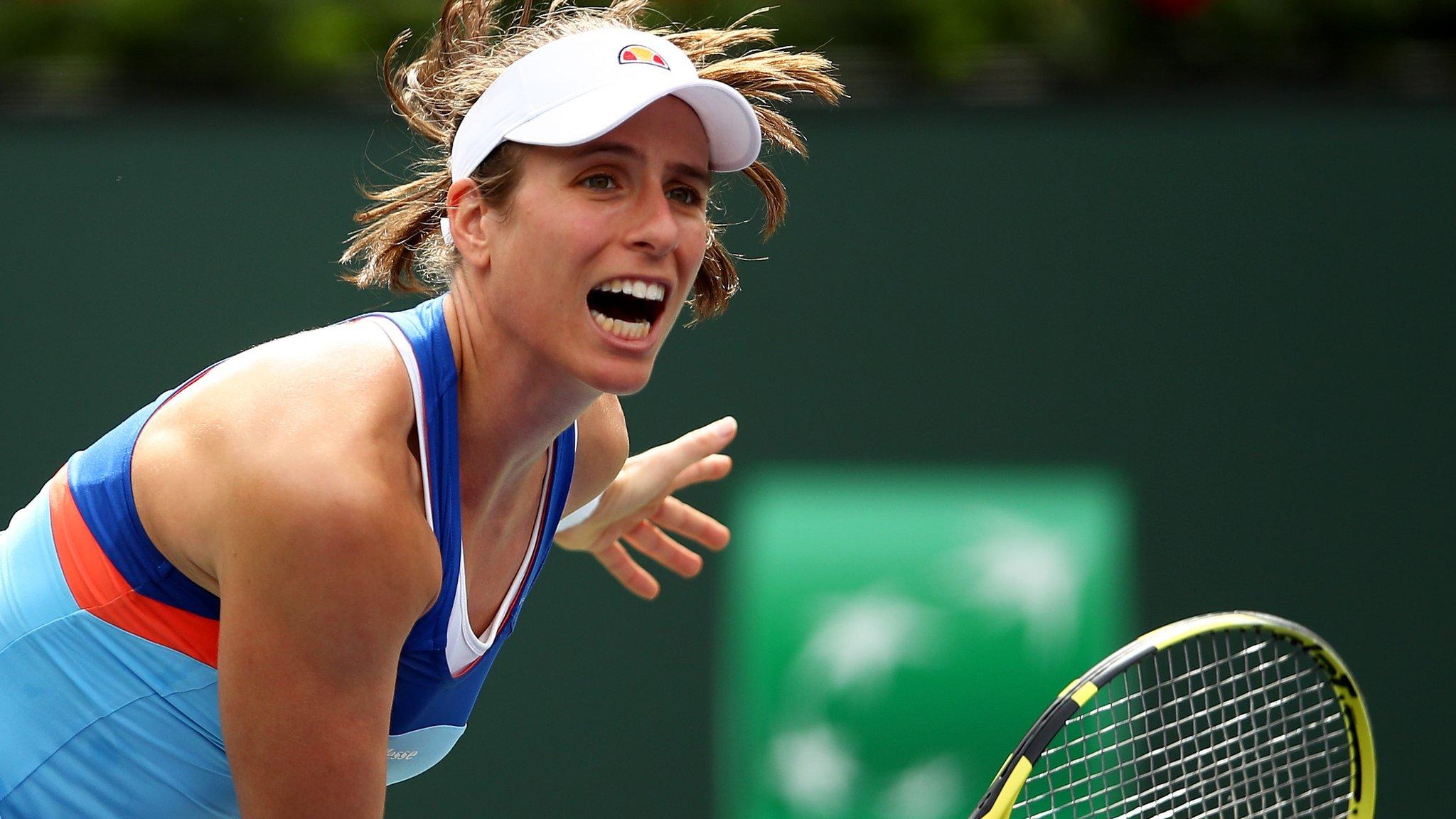 Konta eyes 'perfect pathway' for Wimbledon