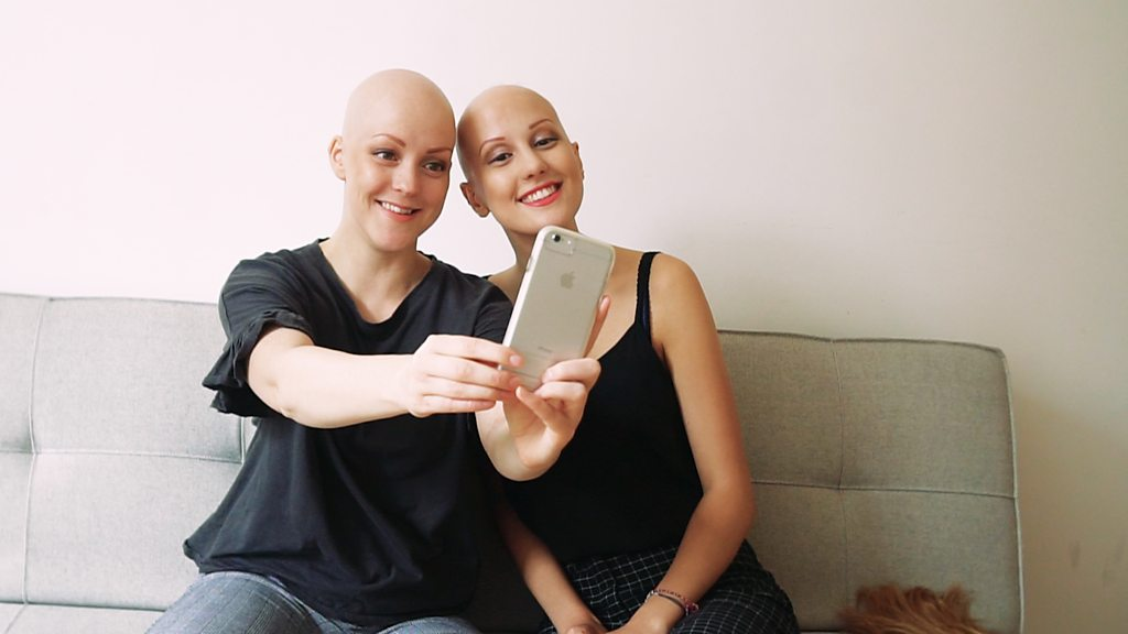 Nichola has created an app to help others with alopecia meet new friends