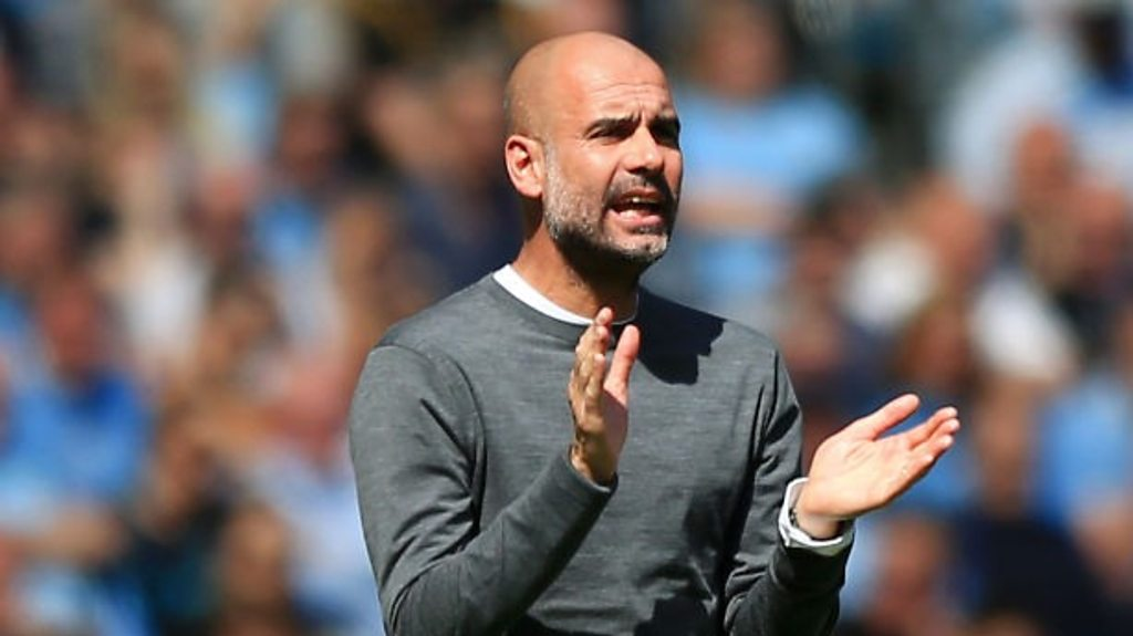 Manchester City 1-0 Tottenham: Pep Guardiola says City will 'fight until end'