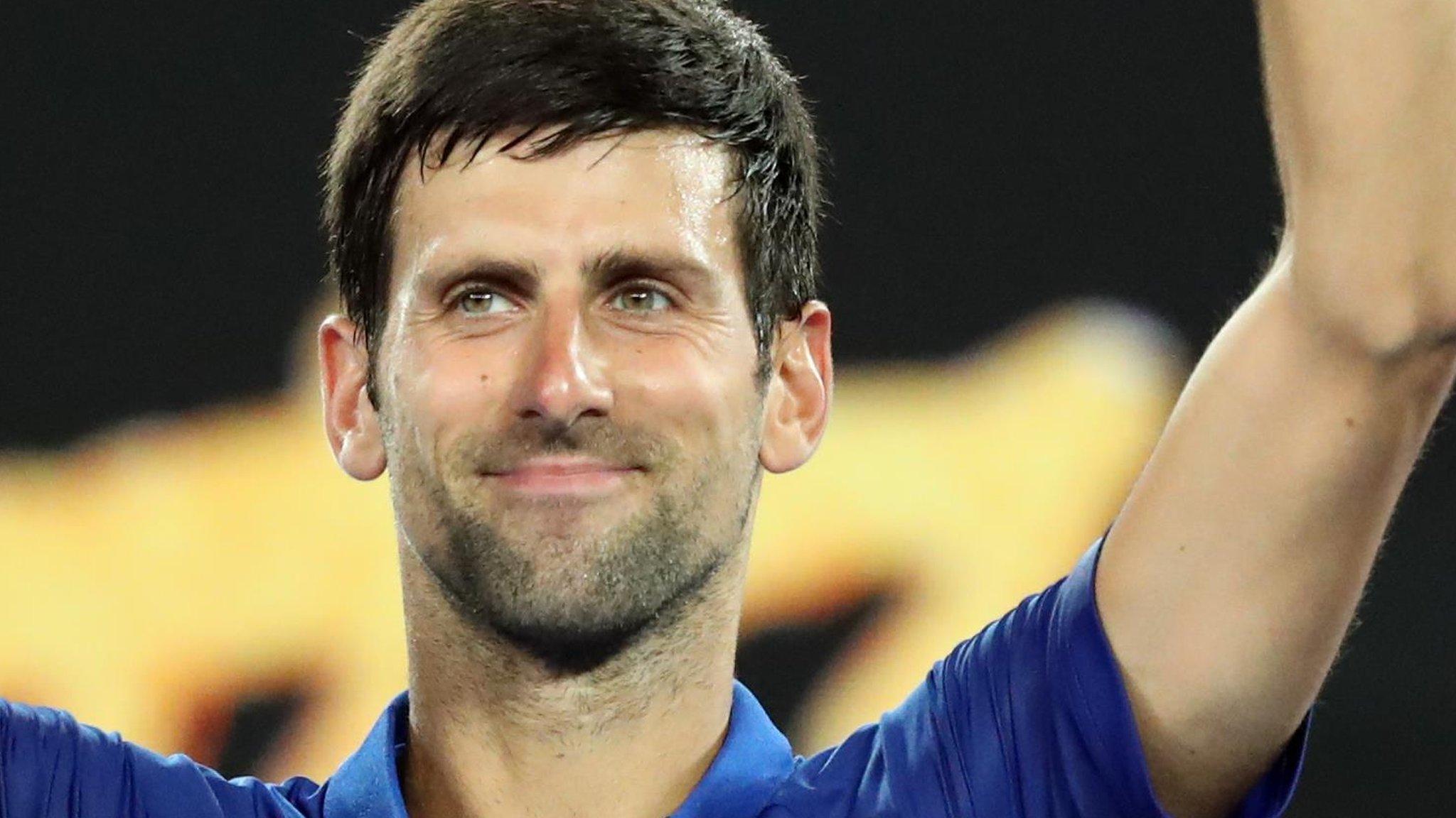 Australian Open 2019: Novak Djokovic beats Jo-Wilfried Tsonga to reach third round