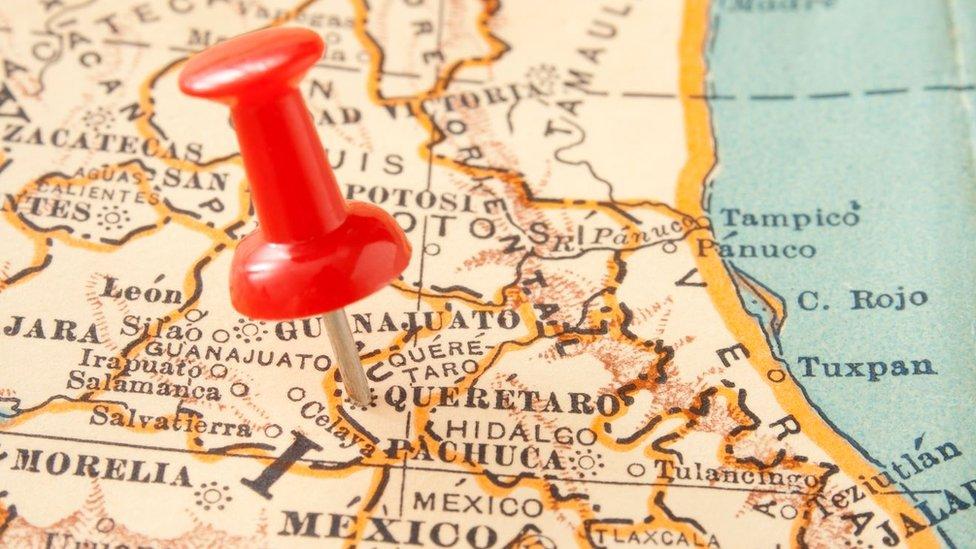Mapa de Querétaro