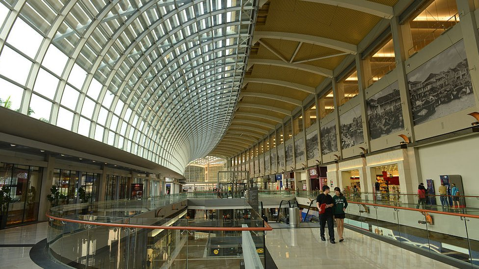 La caída del turismo chino lastra la economía de Singapur.