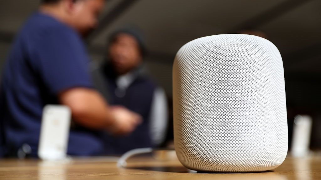 Apple's HomePod speakers leave white marks on wood