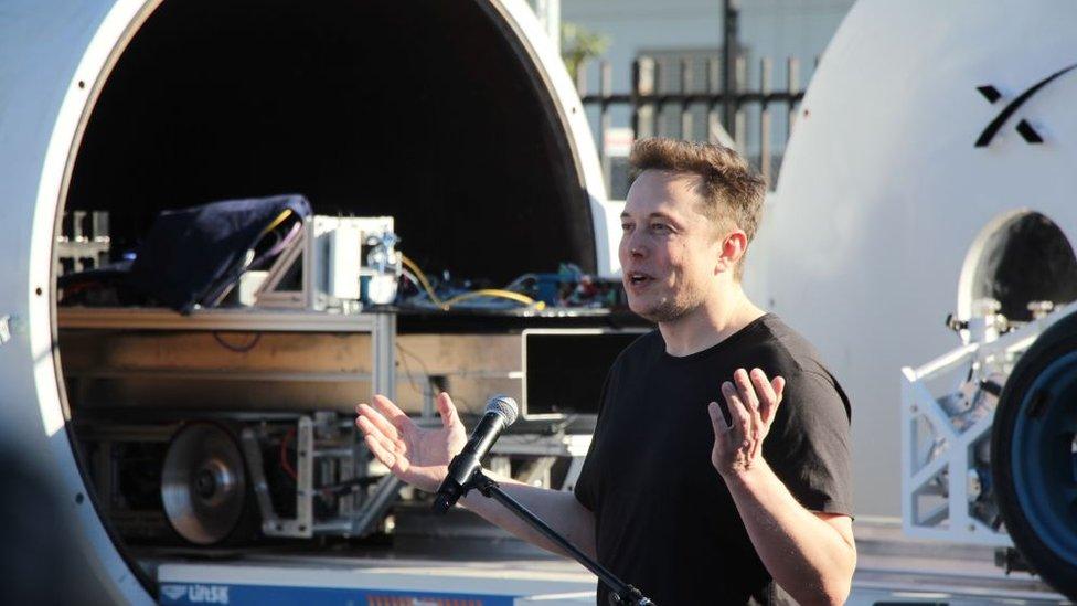 Hyperloop TT es una de las empresas donde ha invertido Musk.