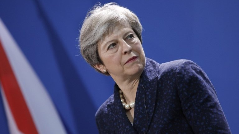 Theresa May warns EU not to block post-Brexit security deal