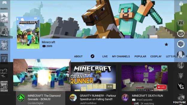 YouTube Gaming platform