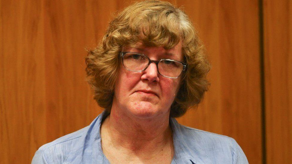 Foto de Helen Milner durante el juicio