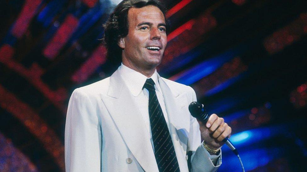 Julio Iglesias en 1981.