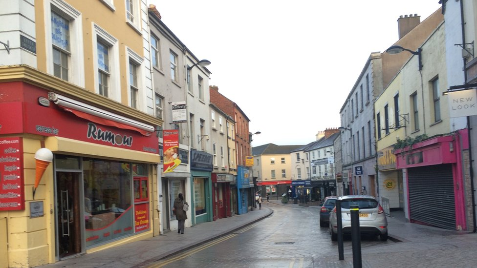 Upper English Street, Armagh city