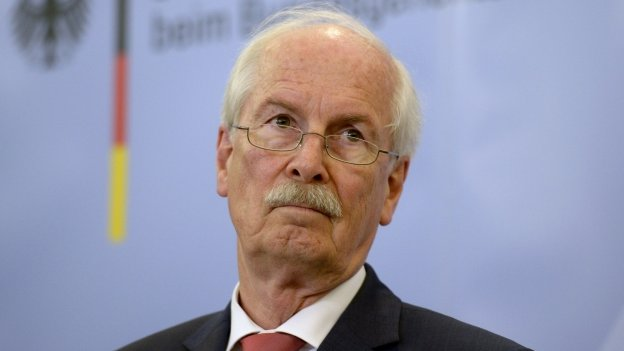 """Federal Prosecutor General Harald Range of Germany""""s Federal Court of Justice"""