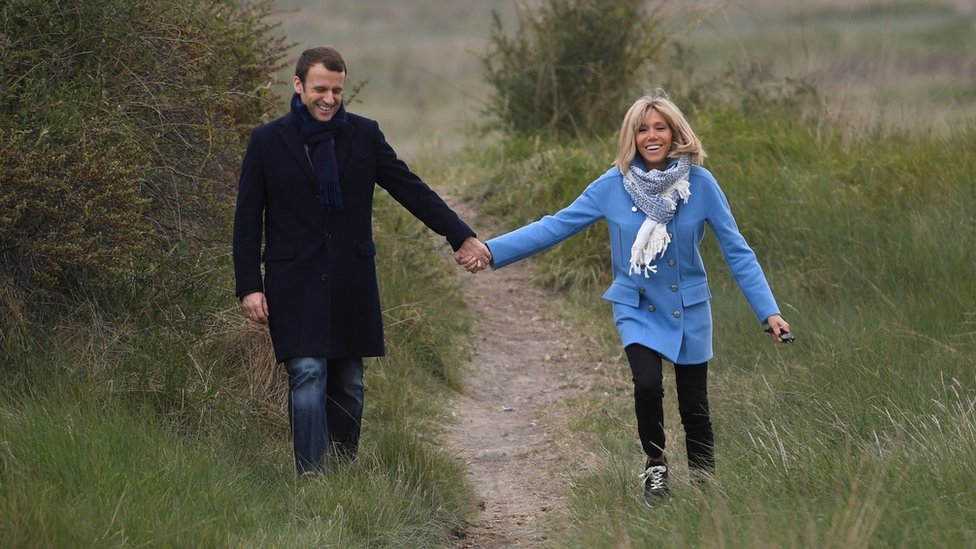 French Election 2017 Meet Brigitte Macron The New First Lady Bbc News