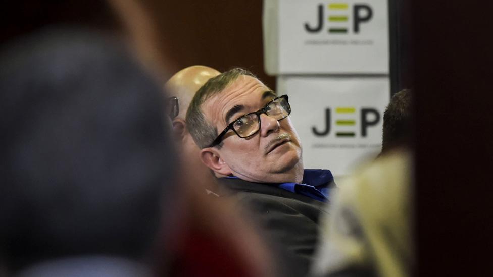 Timochenko en la JEP