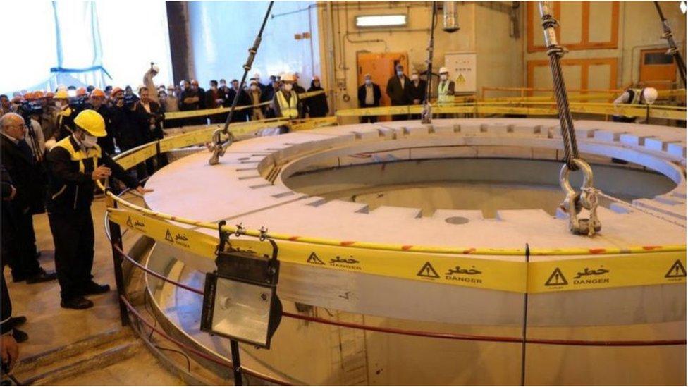 تصر إيران على أن برنامجها النووي سلمي بالكامل