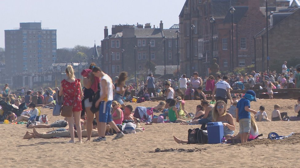 Easter Monday temperature is new Scottish record