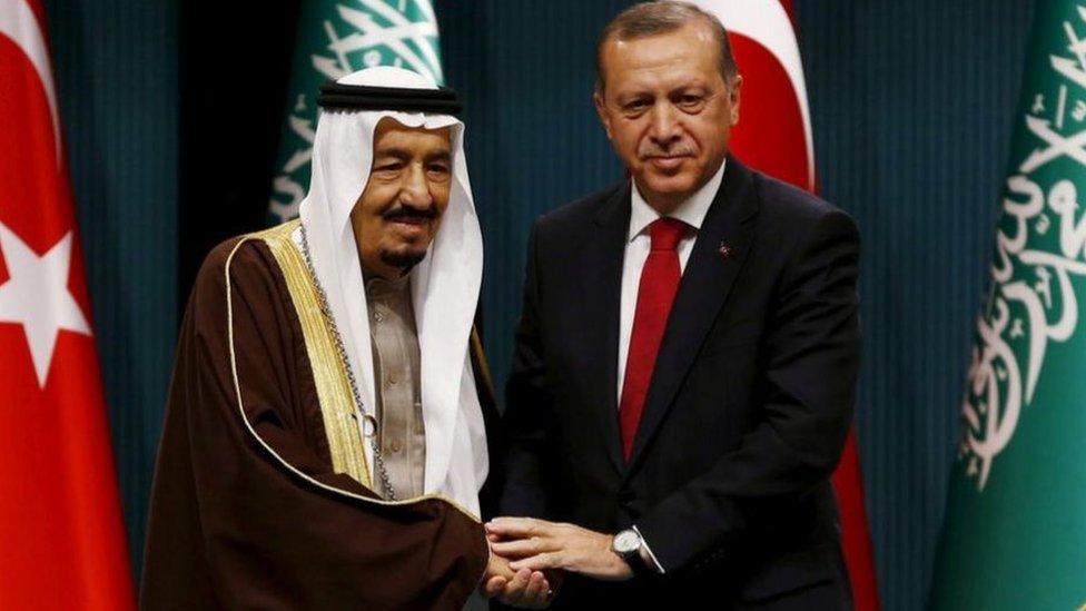 تعاني تركيا والسعودية من خلاف منذ سنوات بشأن السياسة الخارجية