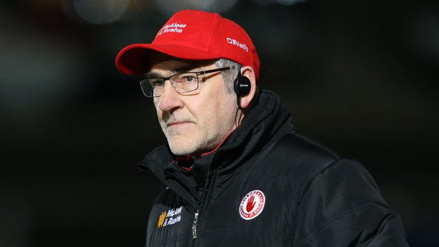 Mickey Harte's side defeated Meath 1-17 to 1-11 at Pairc Tailteann