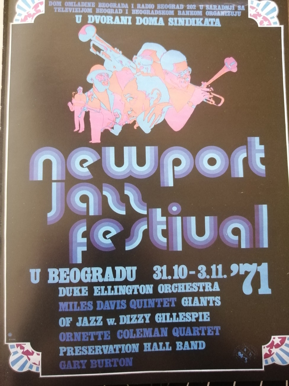 džez, Njuport festival